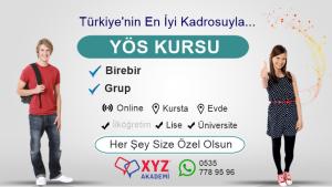 Bursa YÖS Kursu