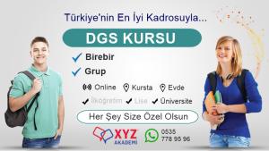 Konya DGS Kursu