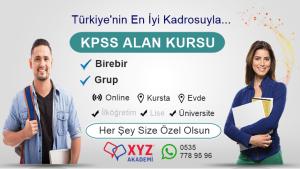 KPSS Alan Kursu Fethiye Muğla