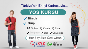 YÖS Kursu Ankara